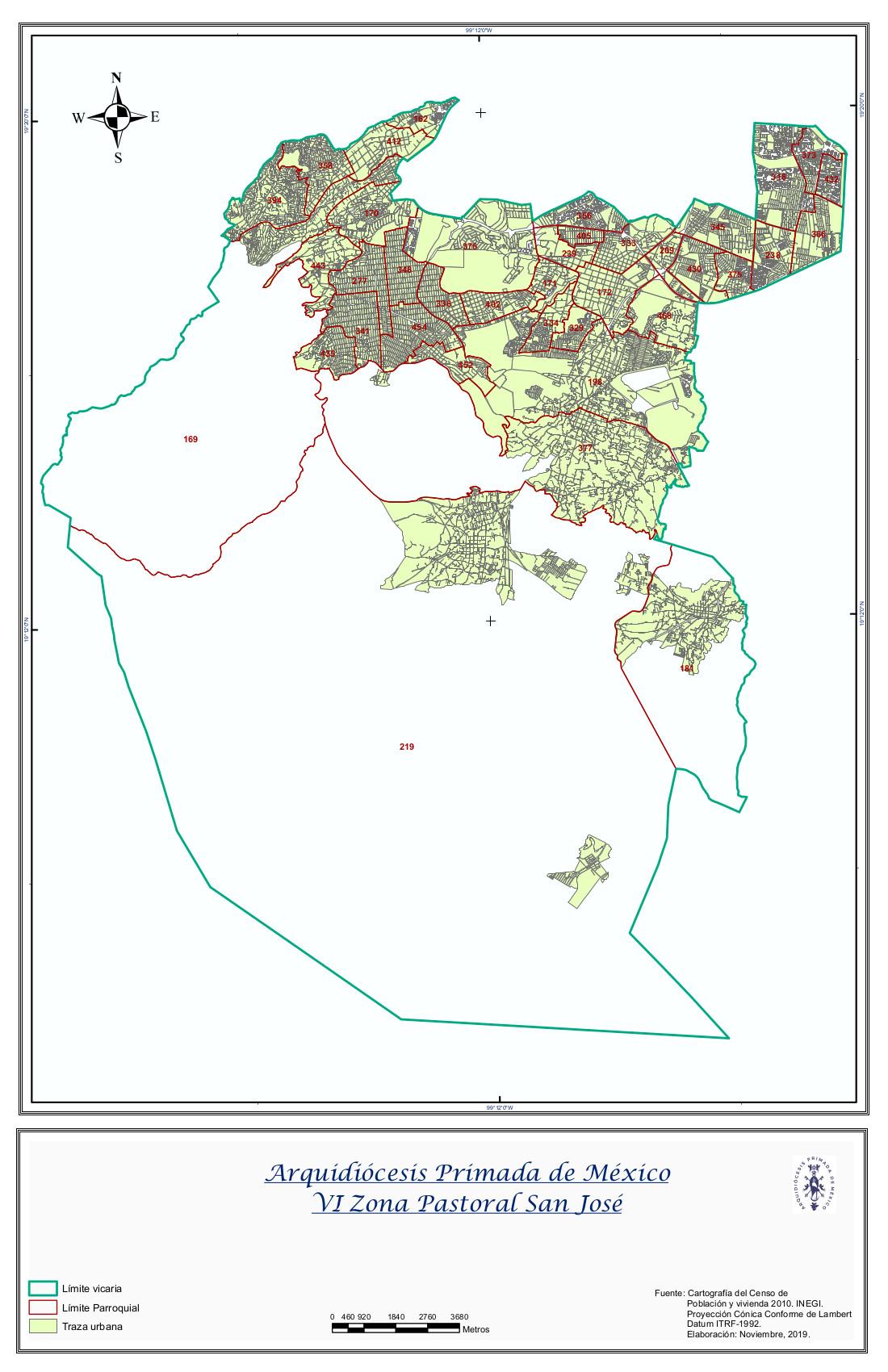 VI Zona Pastoral
