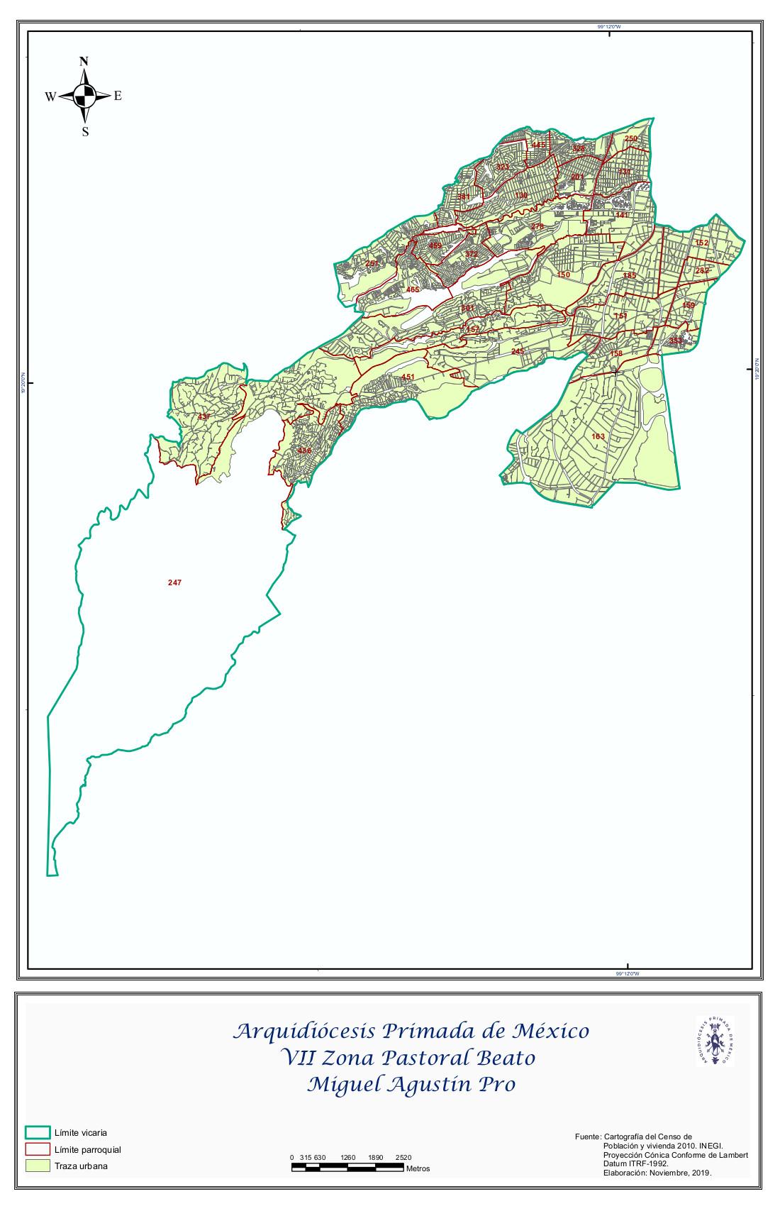 VII Zona Pastoral