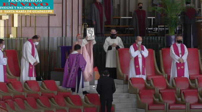 El Arzobispo Carlos Aguiar Retes Preside La Misa Del IV Domingo De Cuaresma 2021.