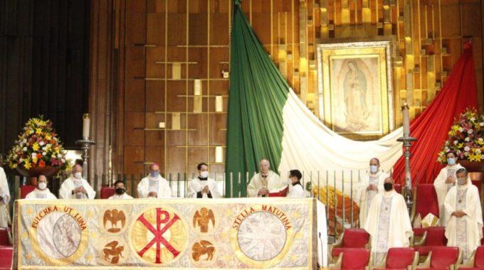 Santa Misa Por La Solemnidad De Nuestra Señora De Guadalupe 2020. Foto: Basílica De Guadalupe.