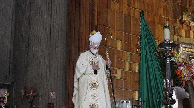 Cardenal Carlos Aguiar Retes. Foto: Basílica De Guadalupe/Cortesía.
