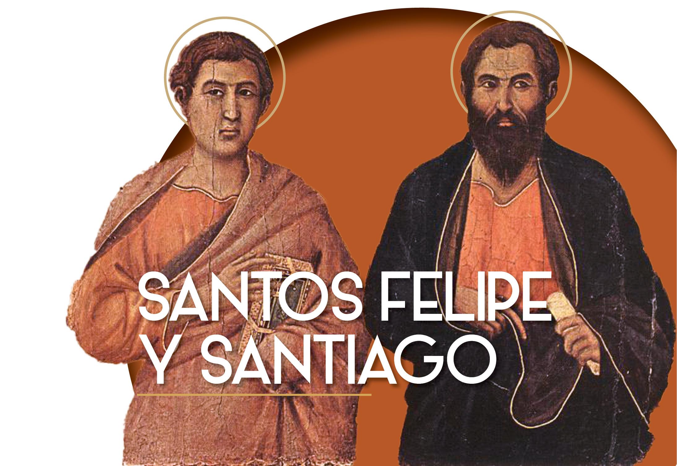 santos apóstoles felipe y santiago