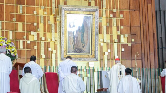 Misa En La Basílica De Guadalupe. Foto: INBG/Cortesía
