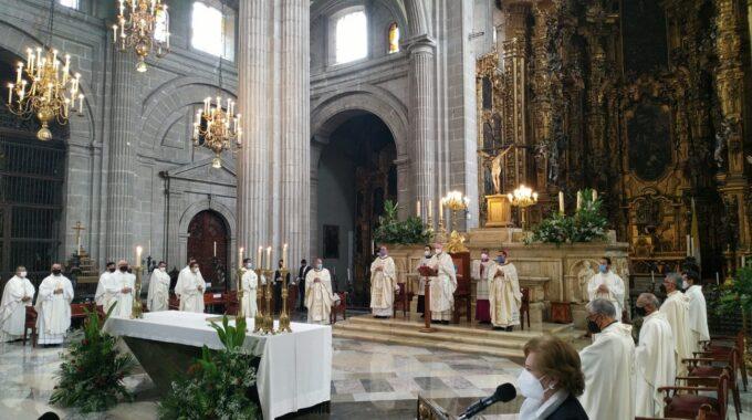 El Arzobispo Carlos Aguiar Retes Preside La Misa De Corpus Christi 2021. Foto: Alejandro García/ Desde La Fe