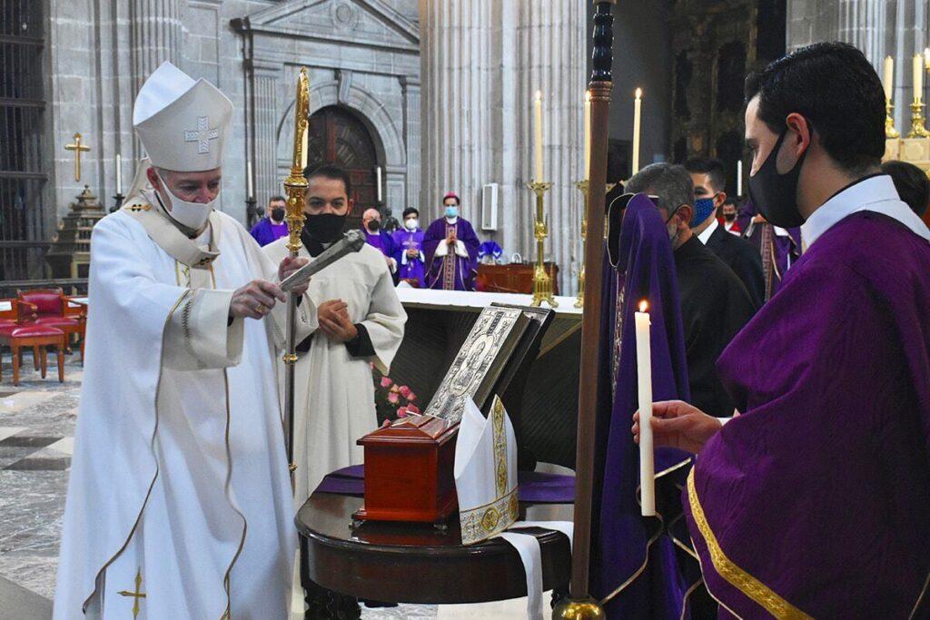 Misa Exequial Mons. Abelardo Alvarado. Foto: Ricardo Sánchez.