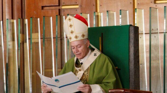 El Arzobispo Carlos Aguiar Retes Preside La Misa Dominical. Foto: Basílica De Guadalupe/Cortesía.