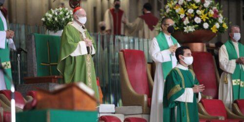 El Arzobispo Carlos Aguiar Retes Preside La Misa Dominical. Foto: Basílica De Guadalupe.