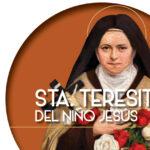 Santa Teresita del Niño Jesús.